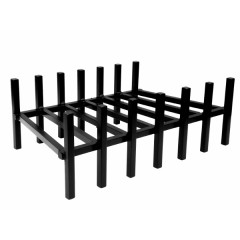 "26"" Flippable Fireplace Grate"