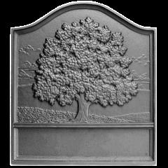 Plain Great Oak Fireback