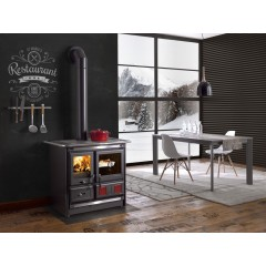 """Rosa L"" Wood Cook Stove by La Nordica"