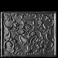 Stiegel 1769 Stove Plate