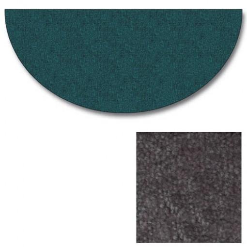 Polyester Half Round Grey Rugs
