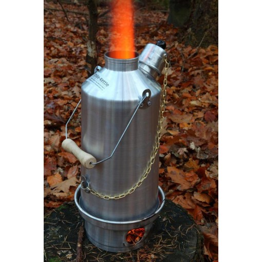 Silver Anodised Aluminium Ghillie Camping Kettles