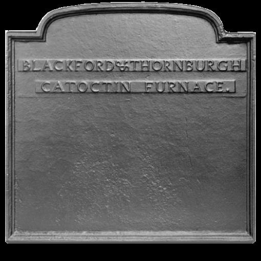 Catoctin Furnace Fireback