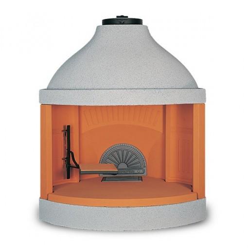 """Refractory Wood Burning Fireplace """"Ecomax Tondo 105"""""""