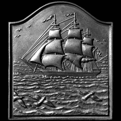 Small Clipper Ship Fireback