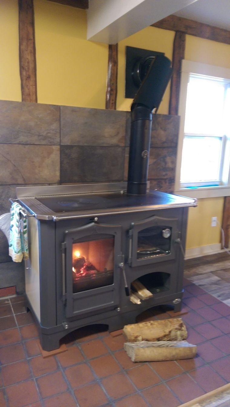 more views modern wood cook stove - Wood Burning Kitchen Stove