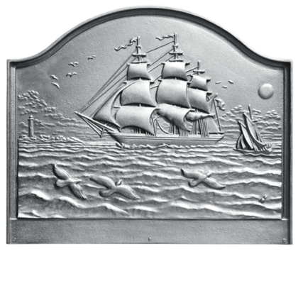 Large Clipper Ship Fireback