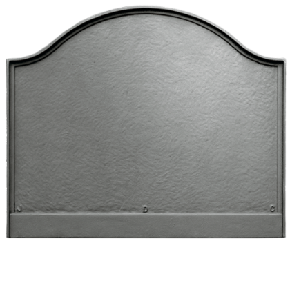 Large Plain Panel Fireback