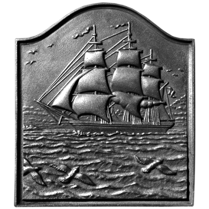 Small Clipper Ship Fireback