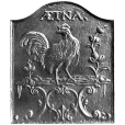 Aetna Rooster Fireback