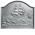 Large Clipper Ship Fireback
